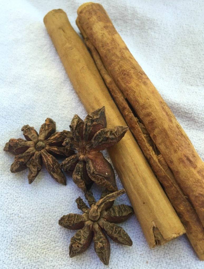 Cinnamon and Star of Anise