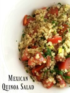 Mexican Lemon Quinoa Salad