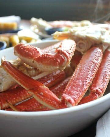 Alaska Bairdi Crab Legs Dinner at Red Lobster - by Mama Maggie's Kitchen
