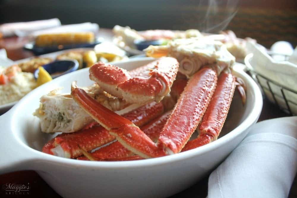 Alaska Bairdi Crab Legs Dinner at Red Lobster - by Mama Maggie's Kitchen