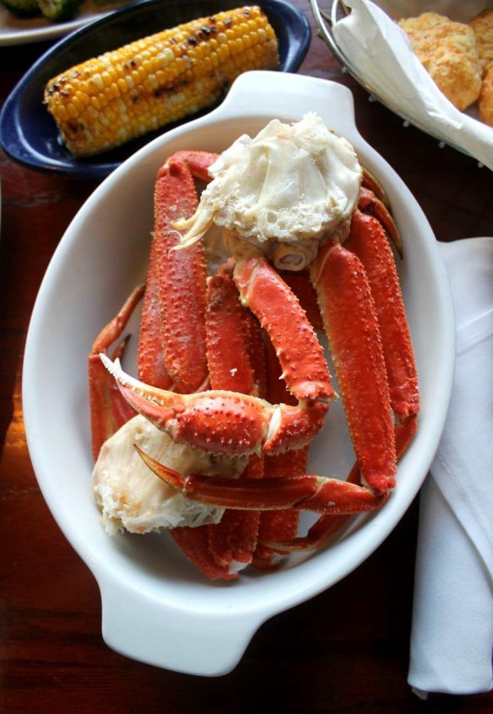 Alaska Bairdi Crab Legs at Red Lobster - Mama Maggie's Kitchen