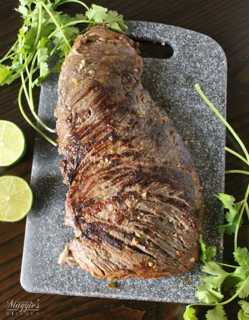 Jalapeño Lime Marinated Steak is juicy and full of delicious flavors ...