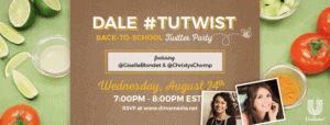 Back to School #TuTwist Twitter Party con Vive Mejor