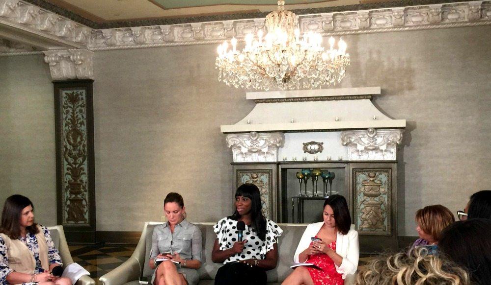 Patrice Washington and Latina Bloggers