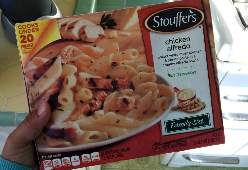 Stouffer's Chicken Alfredo
