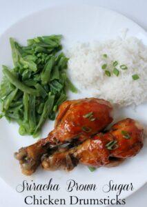 Sriracha Brown Sugar Chicken Drumsticks