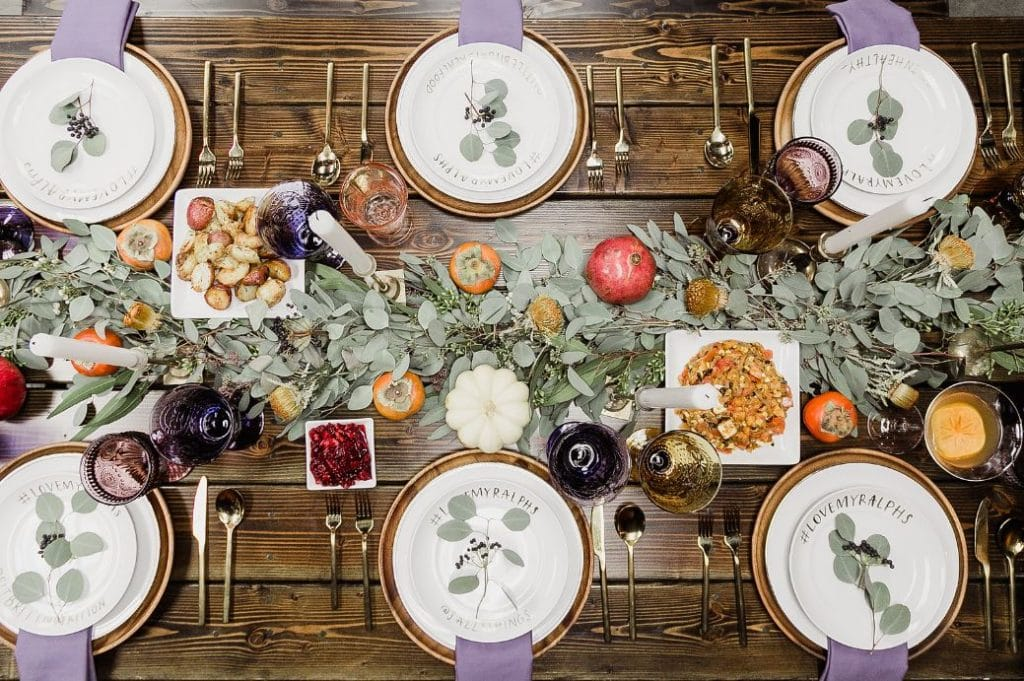 Friendsgiving Table