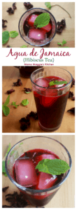 It kills me to pay a lot of money at Mexican restaurants for Agua de Jamaica (Jamaica Drink). It's so easy to make this sweet hibiscus tea at home. Let me show you how! By Mama Maggie's Kitchen