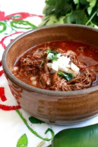Slow Cooker: Birria de Res, or Mexican Beef Stew + VIDEO