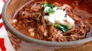 Slow Cooker: Birria de Res, or Mexican Beef Stew + VIDEO