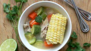 Caldo de Pollo, or Mexican Chicken Soup