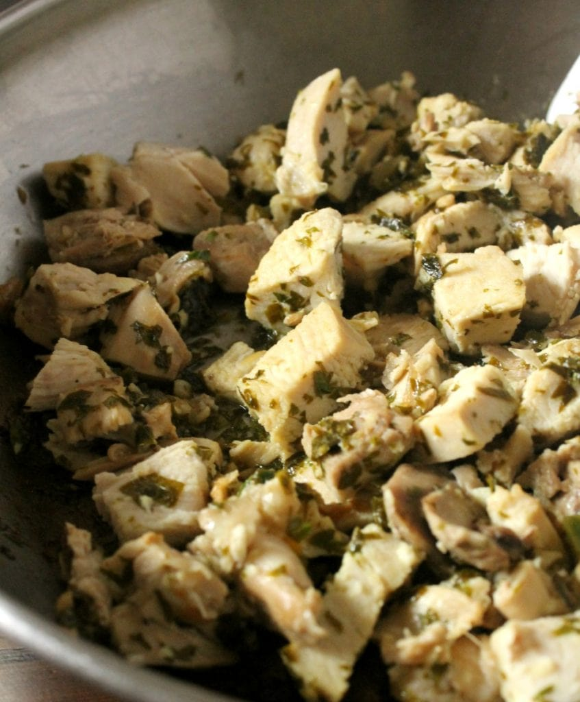 Chimichurri Chicken is an easy recipe with amazing flavors. By Mama Maggie's Kitchen