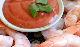 Shrimp with Chipotle Cocktail Sauce
