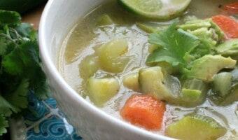 Caldo de Verduras (Mexican Vegetable Soup)