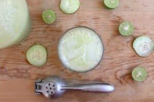 Cucumber Lime Agua Fresca