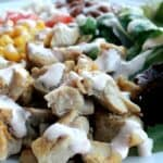 Mexican Chicken Salad with Chipotle Lime Dressing