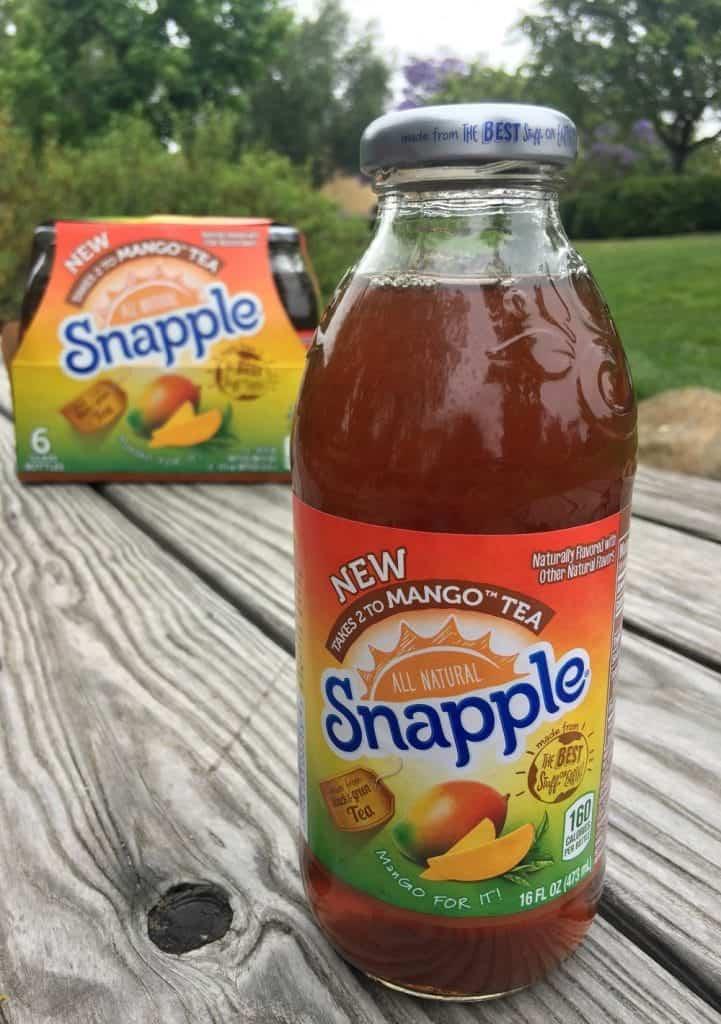 Snapple Takes 2 to Mango Tea