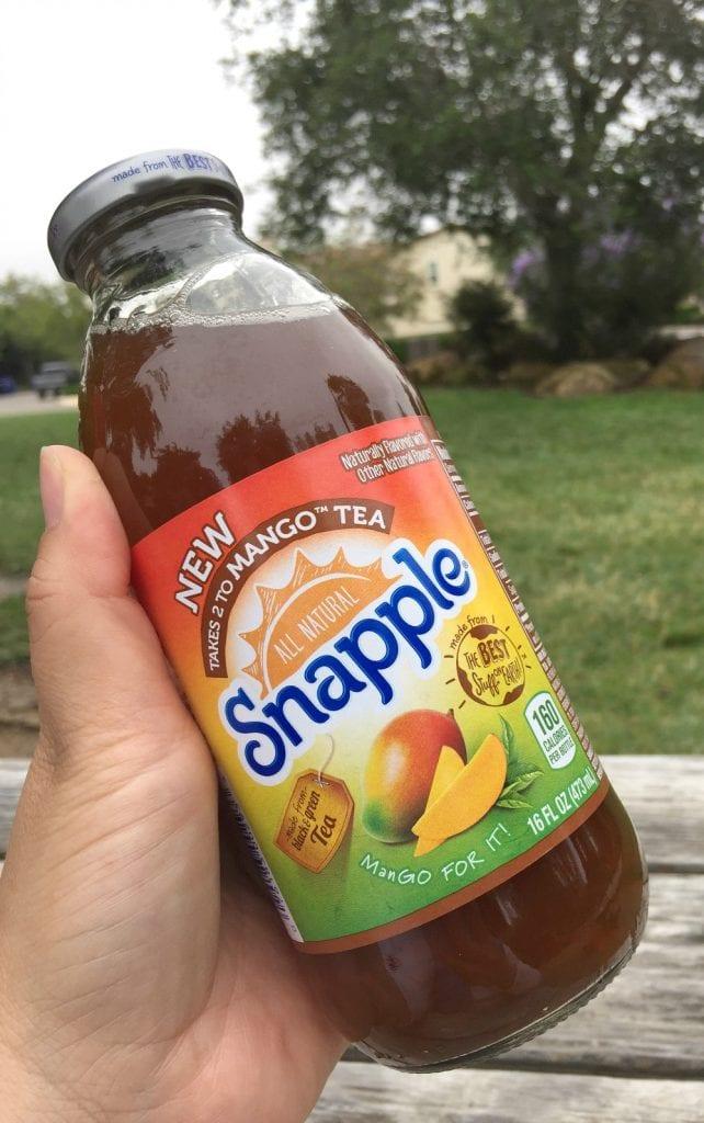 Snapple Tea in the Park