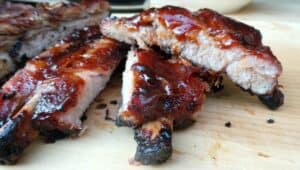 Spice-Rubbed Ribs with Chipotle BBQ Sauce