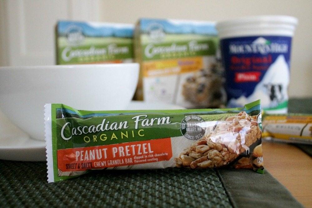 Cascadian Farm Organic peanut Pretzel