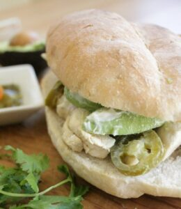Chicken Torta (Mexican Chicken Sandwich)