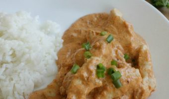 Chicken in Creamy Chipotle Sauce (or Pollo al Chipotle)