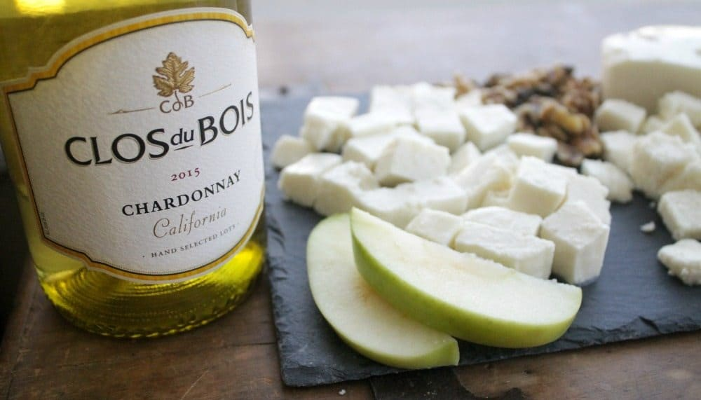 Clos du Bois Wine and Mexican Cheese Platter