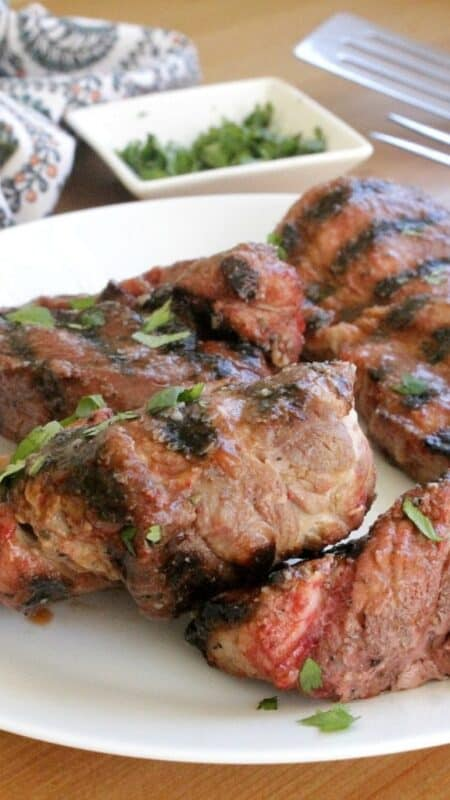Grilled Country-Style Ribs. An easy recipe for that is perfect for summer BBQs and outdoor cookouts. Happy Grilling! By Mama Maggie's Kitchen
