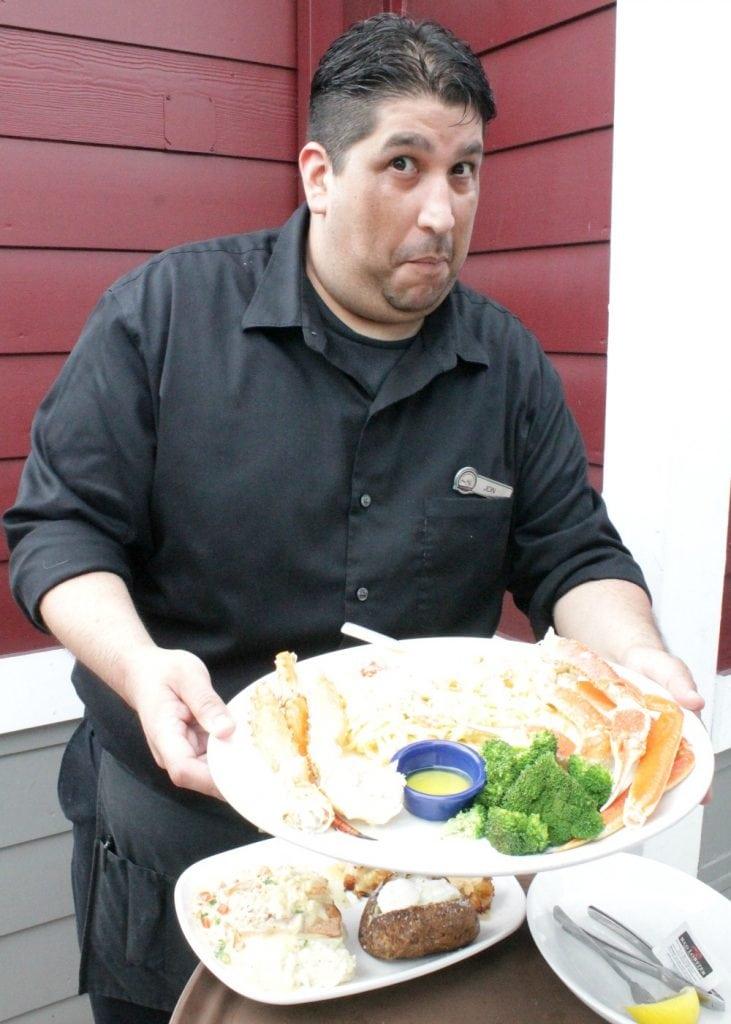 Jon at Red Lobster