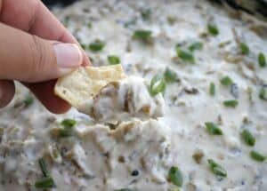 Hatch Chile Cheese Dip