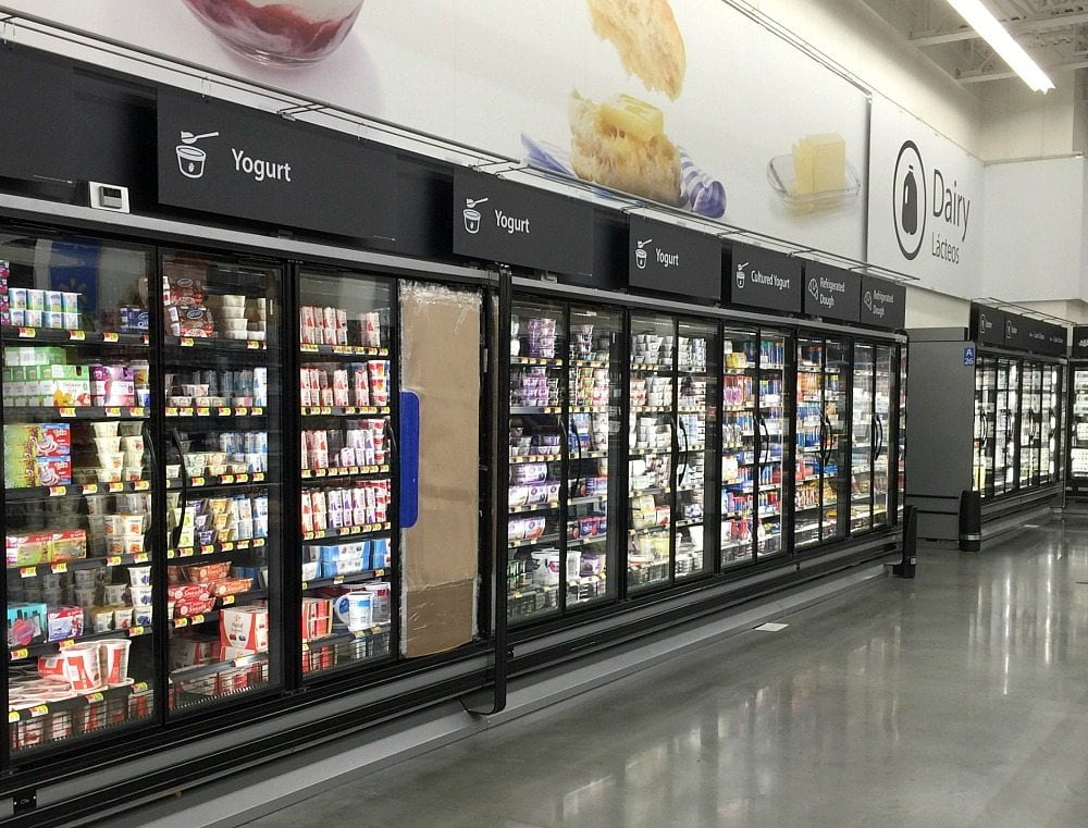 Yogurt at Walmart