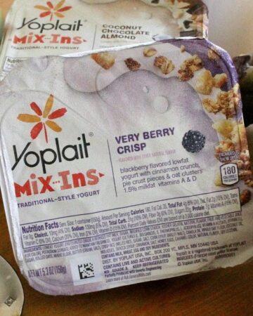 Yoplait Mix-Ins Very Berry Crisp