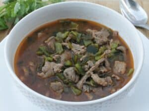 Caldillo Durangueño, a Traditional Beef Stew from Durango, Mexico