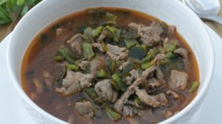 Caldillo Durangueño, a Traditional Beef Stew from Durango, Mexico