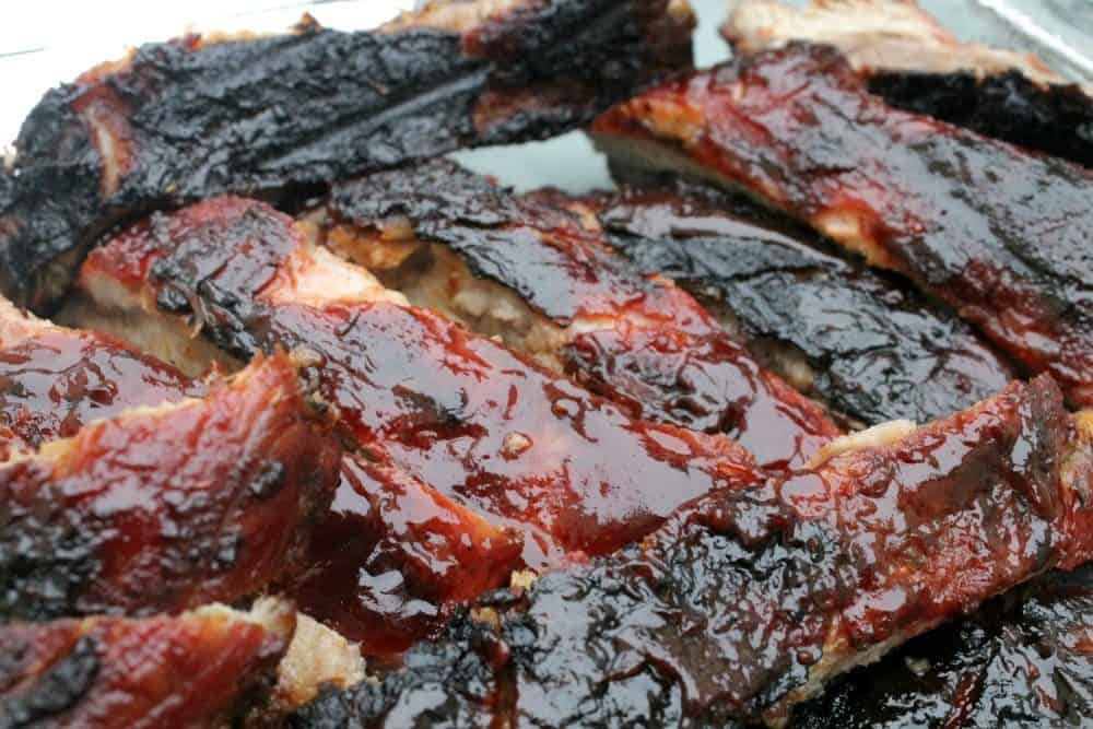 Dr Pepper Chipotle BBQ Ribs - bbq, grill, grilling, game day food - via @MamaMaggiesKitchen