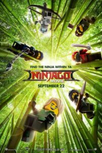 Lego Ninjago Movie Sept 22