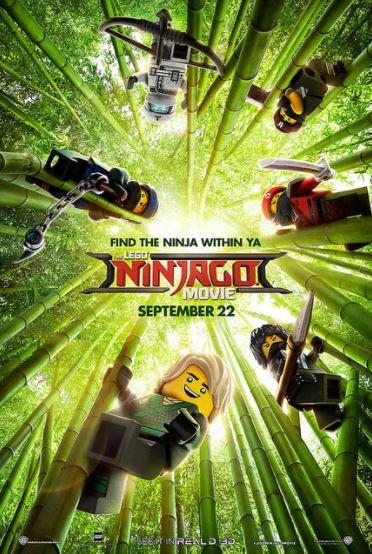 Lego Ninjago Movie Sept 22