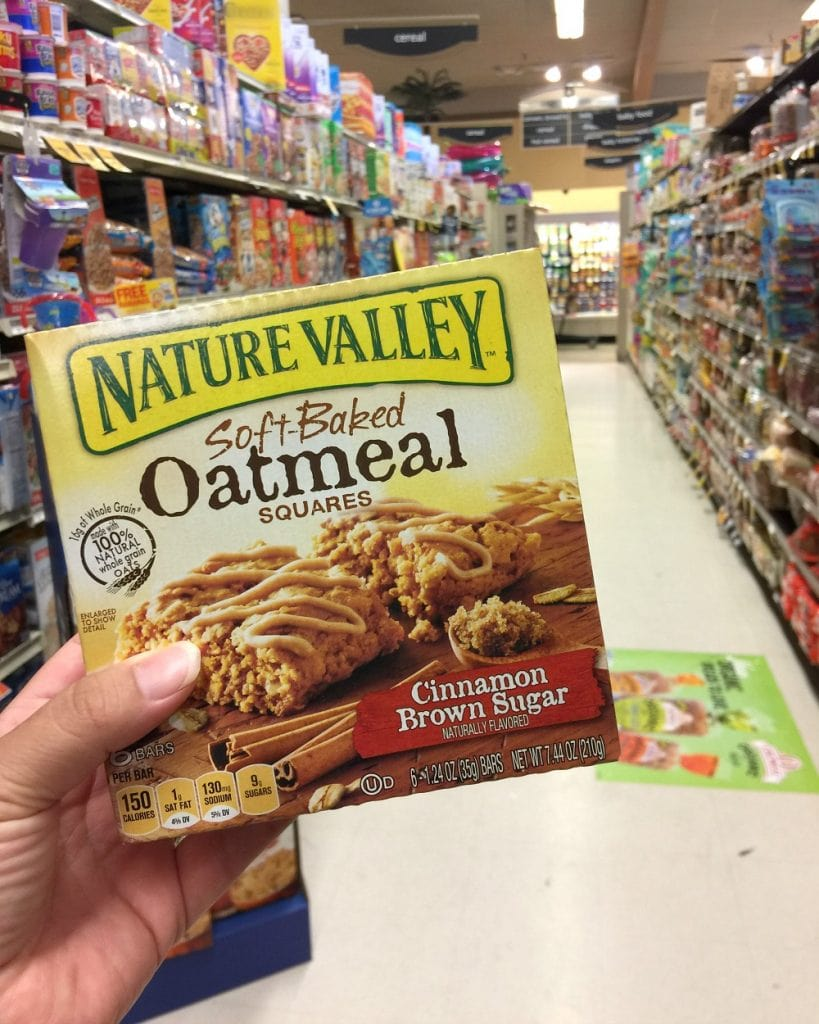 Nature Valley at Vons