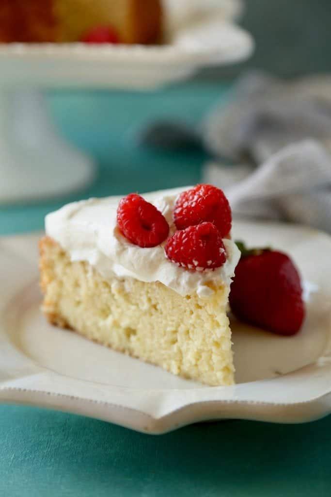 Tres Leches Box Cake