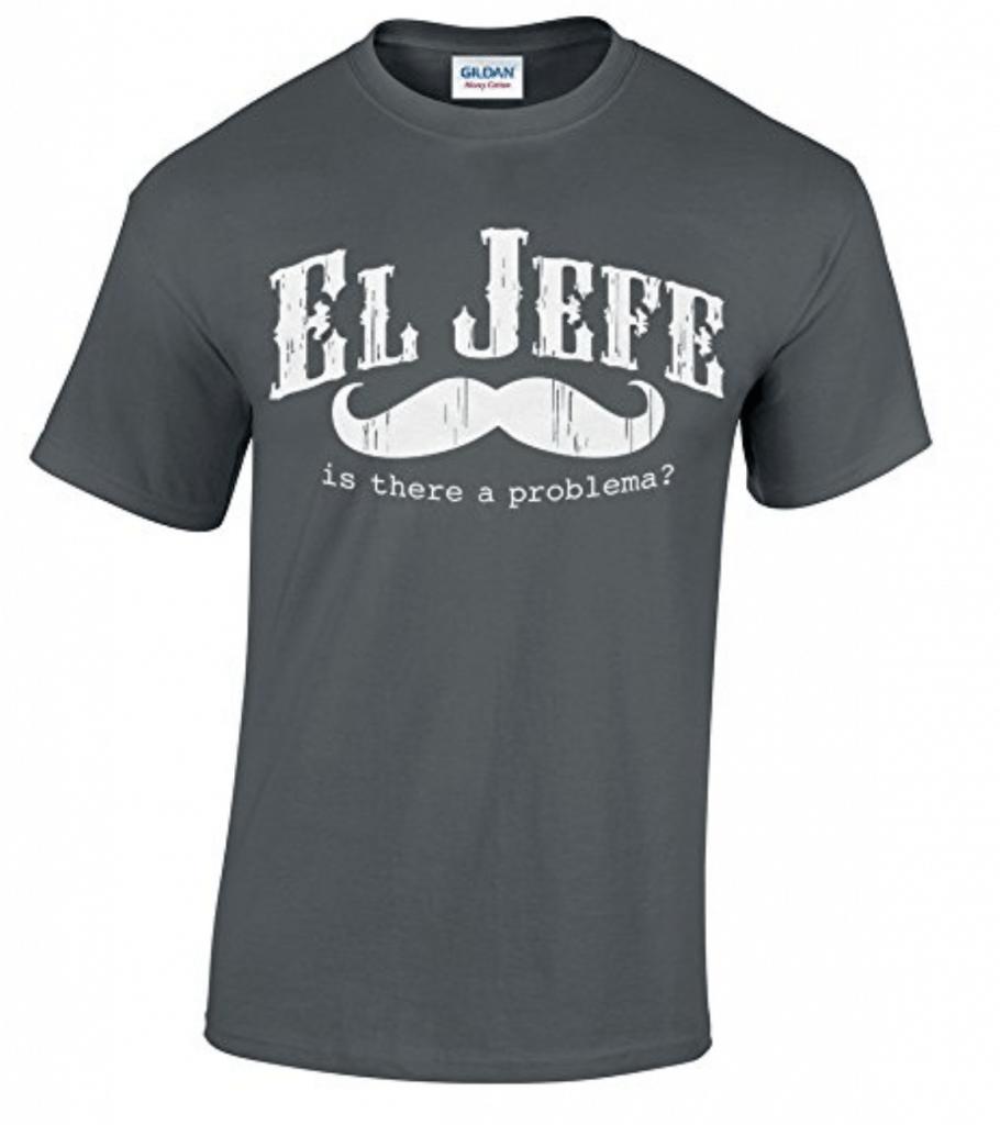 El Jefe. Funny Mexican T-Shirt