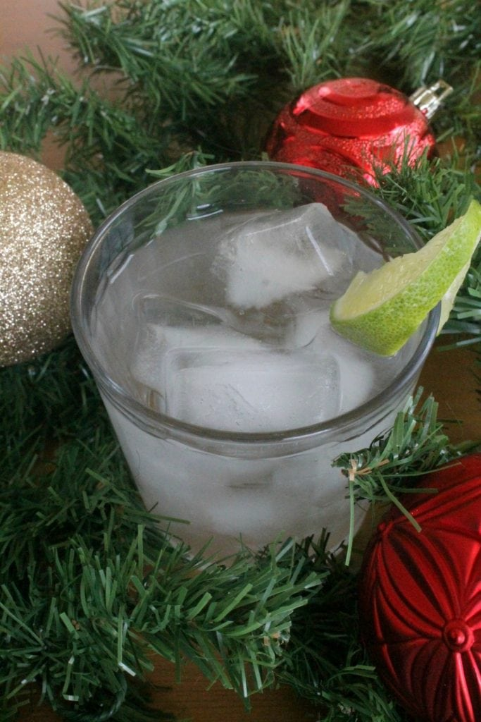 Lime is Fine During Christmas Time Cocktail by Mama Maggie's Kitchen