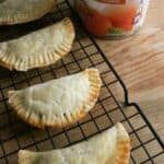 Pumpkin Empanadas make yummy, Mexican treats for the holidays. by Mama Maggie's Kitchen