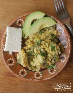 Nopales con Huevo (Cactus with Eggs)
