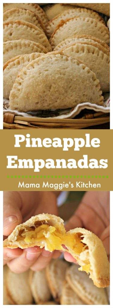 This recipe for Pineapple Empanadas, or Empanadas de Piña, is a keeper. These yummy and vegan empanadas are sweet and slightly tart. They make a great dessert for everyone in the family.