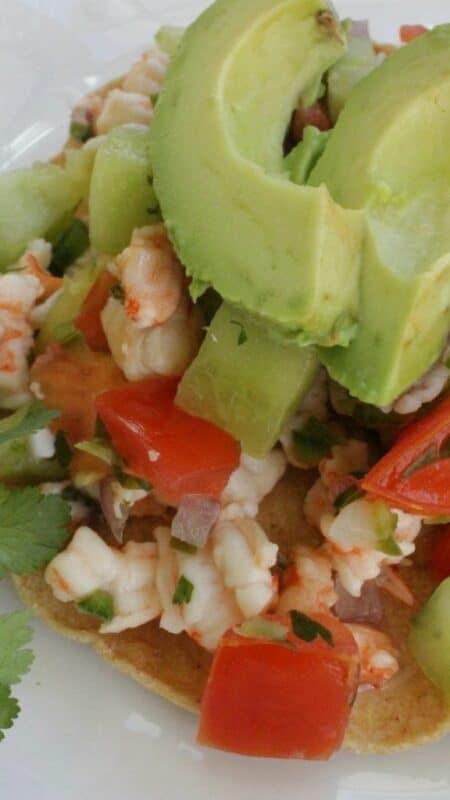 Shrimp Ceviche, Ceviche de Camaron