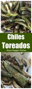 Chiles Toreados are easy-to-make and bring spice and flavor to any dish. Made with serrano peppers or jalapeños. They are usually found at Mexican taquerías or anywhere where tacos are served. by Mama Maggie's Kitchen