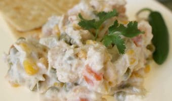 Ensalada de Pollo (Creamy Mexican Chicken Salad)