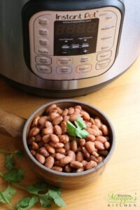 how to cook soaked beans in instant pot
