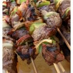 Northern Style Mexican Beef Skewers (Alambre de Res Norteño) are made for the grill. Take your summer backyard BBQs up a notch and try this delicious recipe. Guaranteed to be a hit!