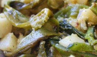 Papas con Rajas + VIDEO